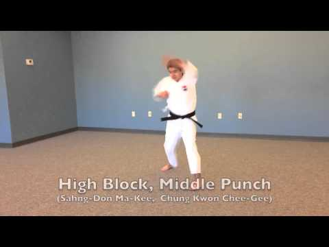 high-block-middle-punch