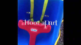 How to: DIY Little tikes swing install with swing hardware