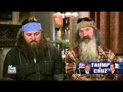 Phil and Willie Robertson open up about their endorsements