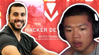 TSM WARDELL GETS MATCHED AGAINST A CHEATER IN VALORANT! (ft. m0e & Subroza)