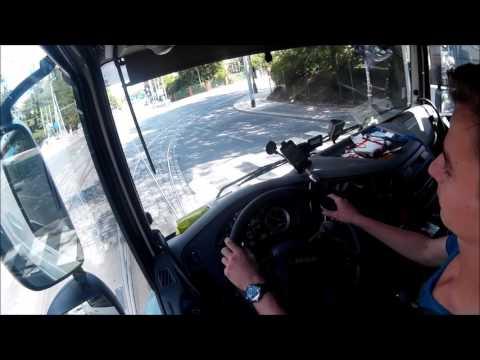 Kamionem v centru Prahy. 19-ti letý řidič kamionu (Kaufland Vypich- Kaufland Podbaba) Nicotrans