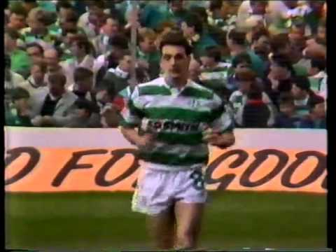 Celtic v Hearts Scottish Cup Semi 1988