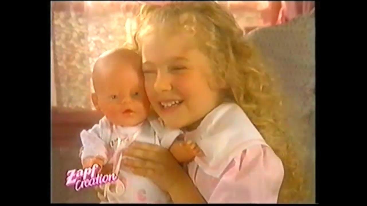 Zapf Creation Baby Born Doll Set 1999 Youtube