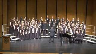 """SRHS Shark Choir """"Inscription of Hope"""" by Z. Randall Stroope at State Choral MPA, April 21, 2015"""