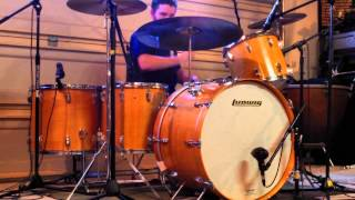 Led Zeppelin - Traveling Riverside Blues (Drum Cover) w/ Music - Ludwig Maple Thermogloss Kit