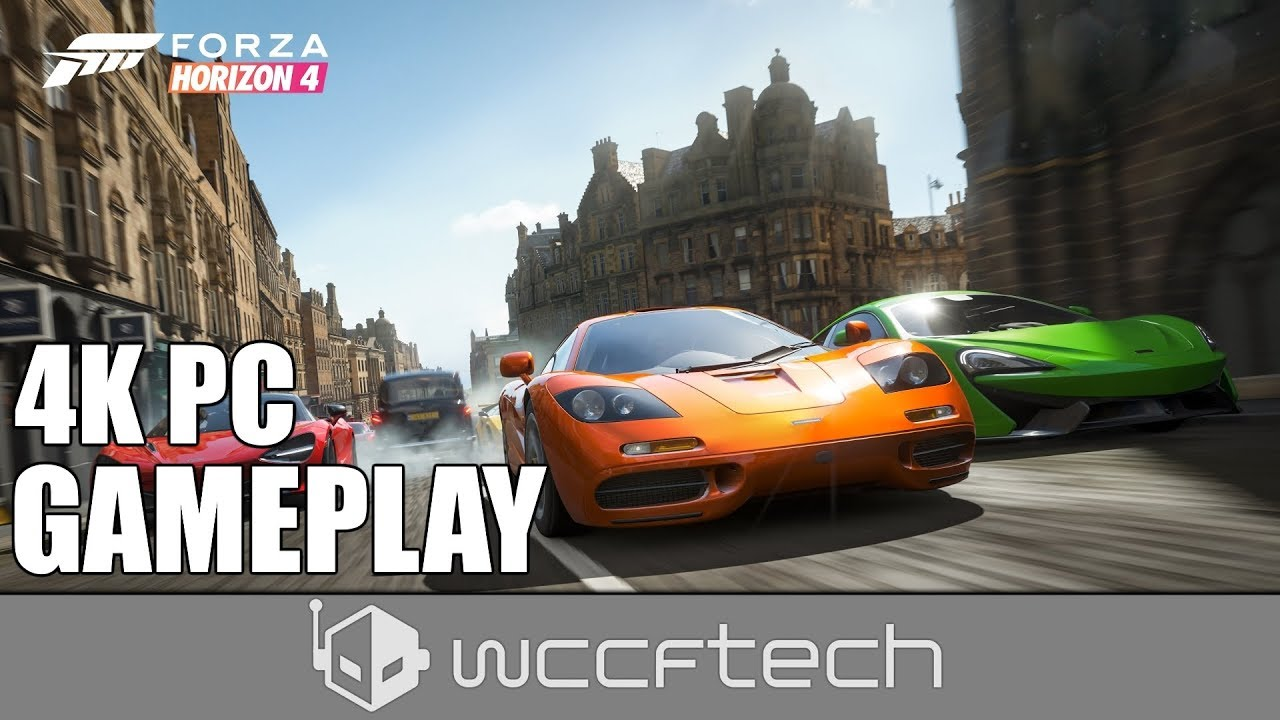 Forza Horizon 4 Demo GPU Performance and Ryzen Core Scaling
