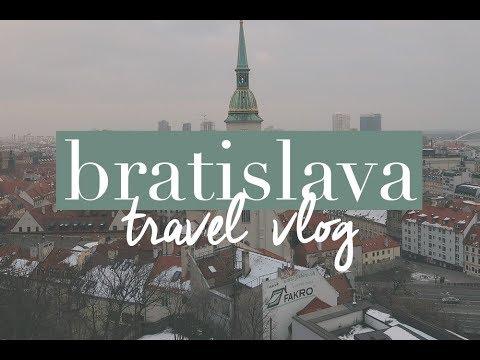 TRAVEL VLOG | BRATISLAVA, SLOVAKIA