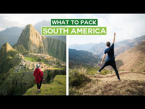 What To Pack | South America (backpacking on a budget!)