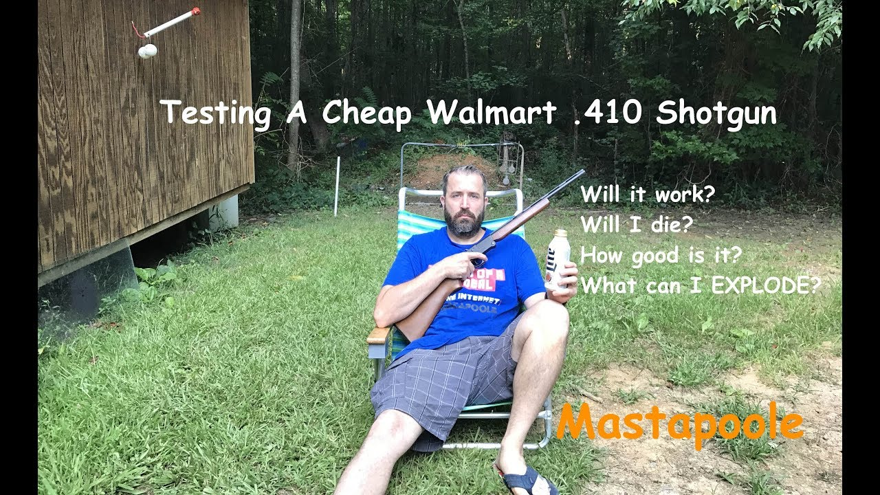 Cheapest Walmart  410 Shotgun EVER