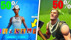 ich kaufe 50% RECON EXPERT 50% NO SKIN Account für 2,99€ in Fortnite 2