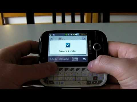 Samsung Corby Pro Browser WiFi
