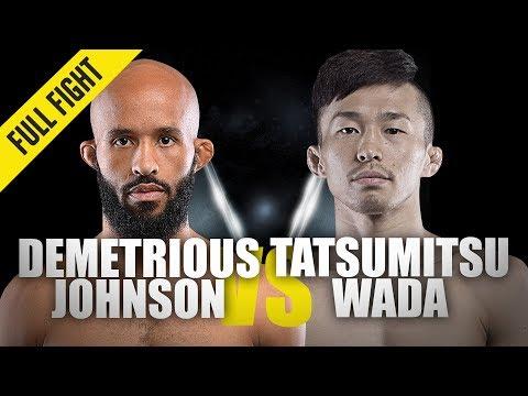 Demetrious Johnson Vs. Tatsumitsu Wada | ONE Full Fight | Ticket To The Final | August 2019