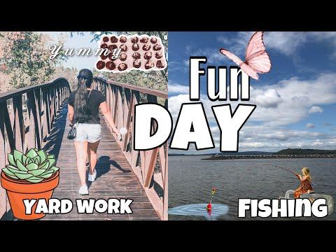 FUN DAY At LAKE FISHING| FILIPINA LIFE IN AMERICA