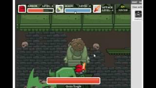 Chibi Knight: The Green Knight Boss Battle