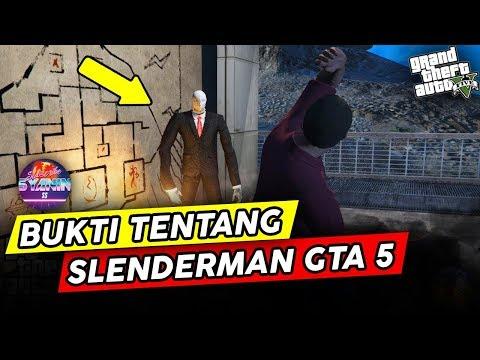 MEMBONGKAR MISTERI GTA 5 Slenderman & Sosok Makhluk Tinggi NO HOAX Rahasia Easter Egg GTA Indonesia - 동영상