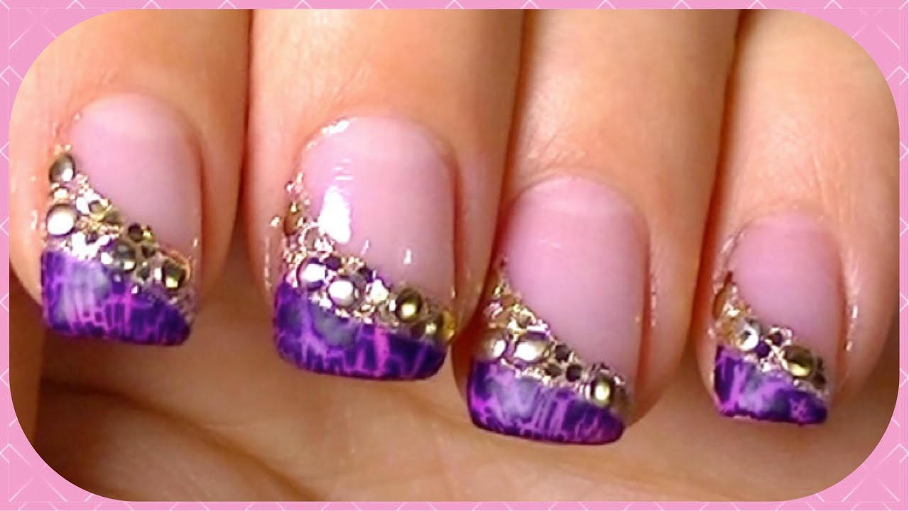 bring out your crackle nail polish simplefastelegant nail art design tutorial youtube