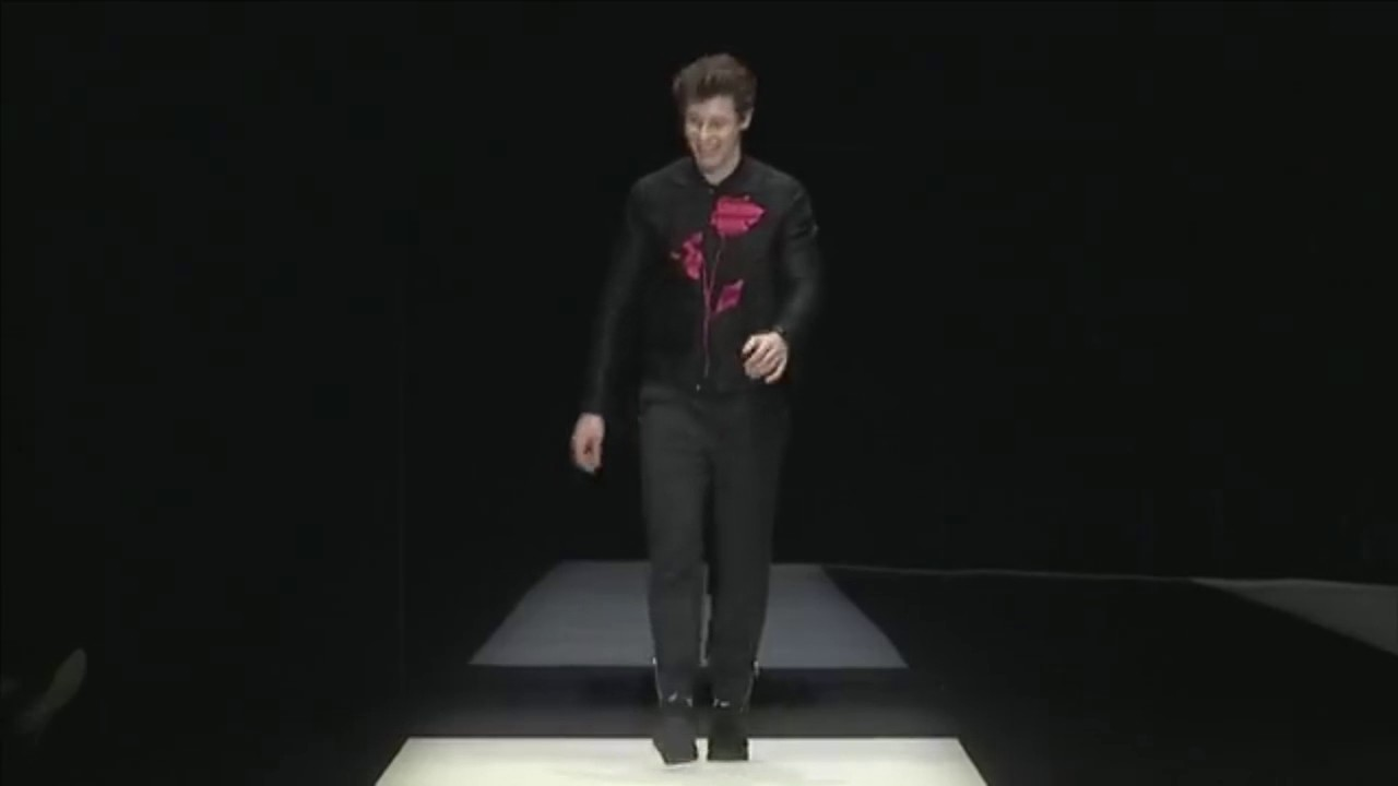 Shawn Mendes - Emporio Armani men's spring summer 2018 fashion show