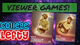 VEIWER GAME HIGHLIGHTS WITH LEFTY PART 2! MLB THE SHOW 18!