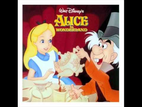 Alice in Wonderland OST - 10 - Mary Ann!/A Lizard with a Ladder/We'll Smoke the Blighter Out