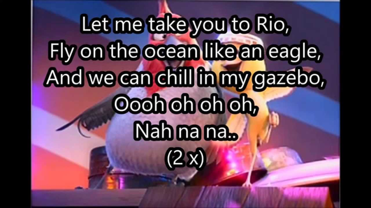 rio 2 let me take you to rio lyrics - youtube