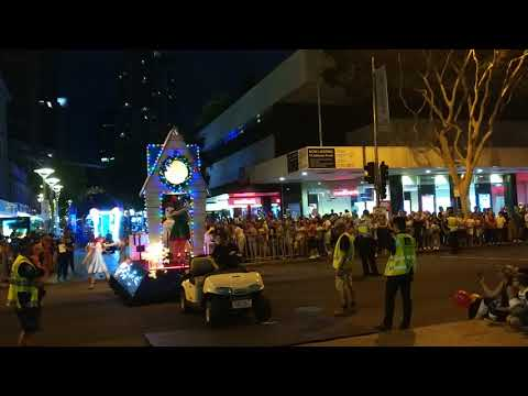 Brisbane Christmas Parade - Awsome