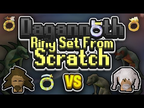 Dagannoth Ring Set from SCRATCH | Tanzoo v Virtoso | Challenge Episode 102
