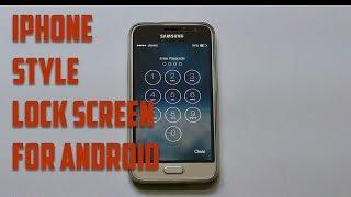 видео Блокировка экрана как на айфоне для андроид
