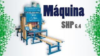 Máquina para Blocos de Concreto e Pavimentação SHP 6.4