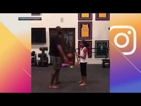 Kobe Bryant gets schooled by daughter | ESPN