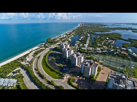 Aerial Video of Little Hickory Island and Bonita Beach - Bonita Springs, FL