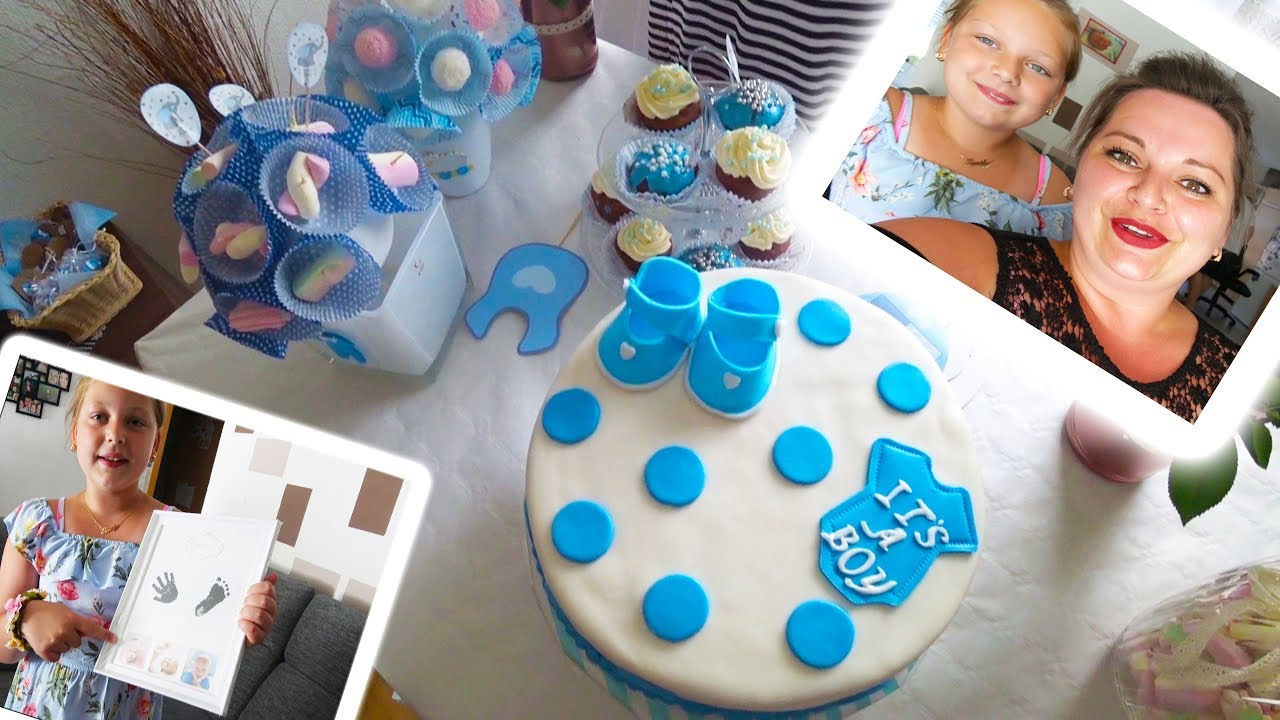 BABY SHOWER PARTY. IT´S A BOY. Silkes bunte Welt