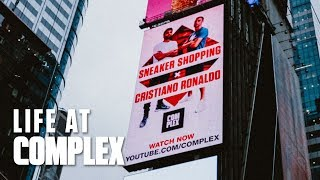 SNEAKER SHOPPING BILLBOARD IN TIMES SQUARE! | #LIFEATCOMPLEX
