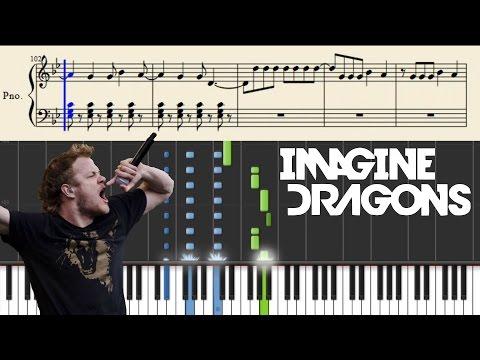 Imagine Dragons - Roots - Piano Tutorial + Sheets