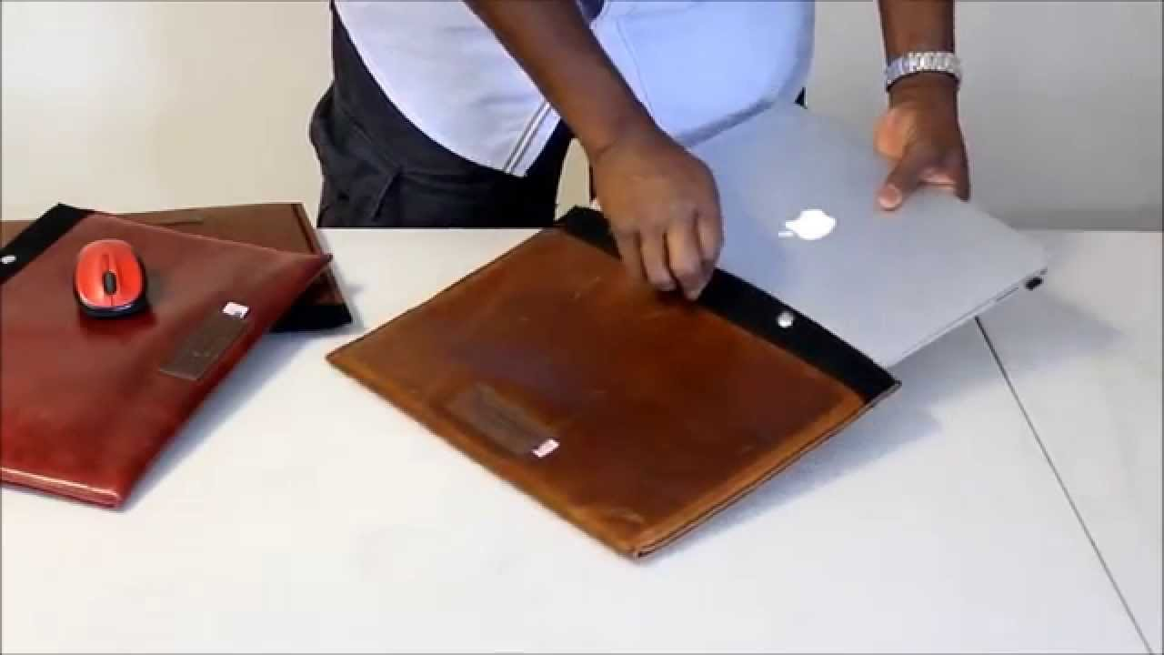 Laptop Sleeve Leer Review:custom Italian Leather Laptop Case - Copper River