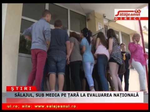 SĂLAJUL, SUB MEDIA PE ȚARĂ LA EVALUAREA NAȚIONALĂ
