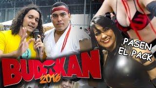 BUDOKAN 2016 (2/2) | COSPLAYER/PASEN EL PACK | El Gordito Sushi
