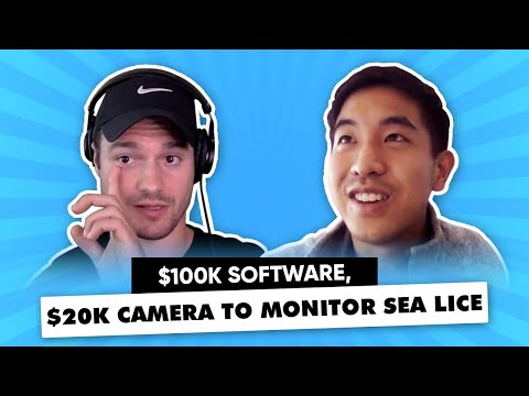 He Sells Fish Farms $100k Software, $20k Camera To Monitor Sea Lice, Fish Health