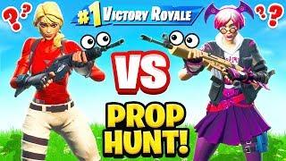 PROP HUNT For RARE LOOT in FORTNITE!