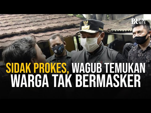 Sidak Prokes di Tasikmalaya, Wagub Jabar Temukan Warga Tak Pakai Masker