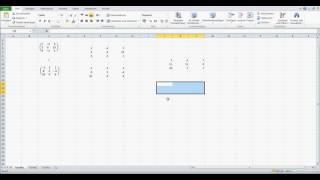 Matrizen addieren in Excel Excel für Einsteiger
