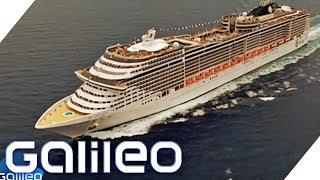 Der größte Kreuzfahrthafen Europas | Galileo | ProSieben