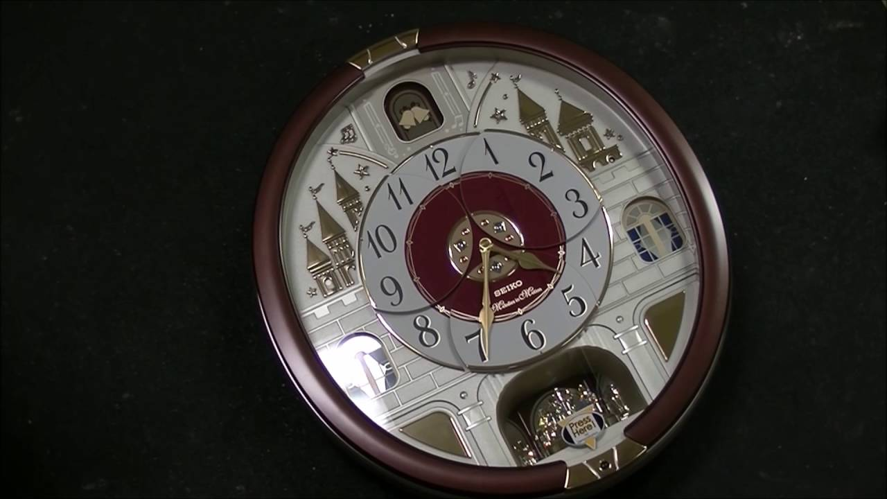 Seiko Melodies In Motion Wall Clock Unboxing And Review