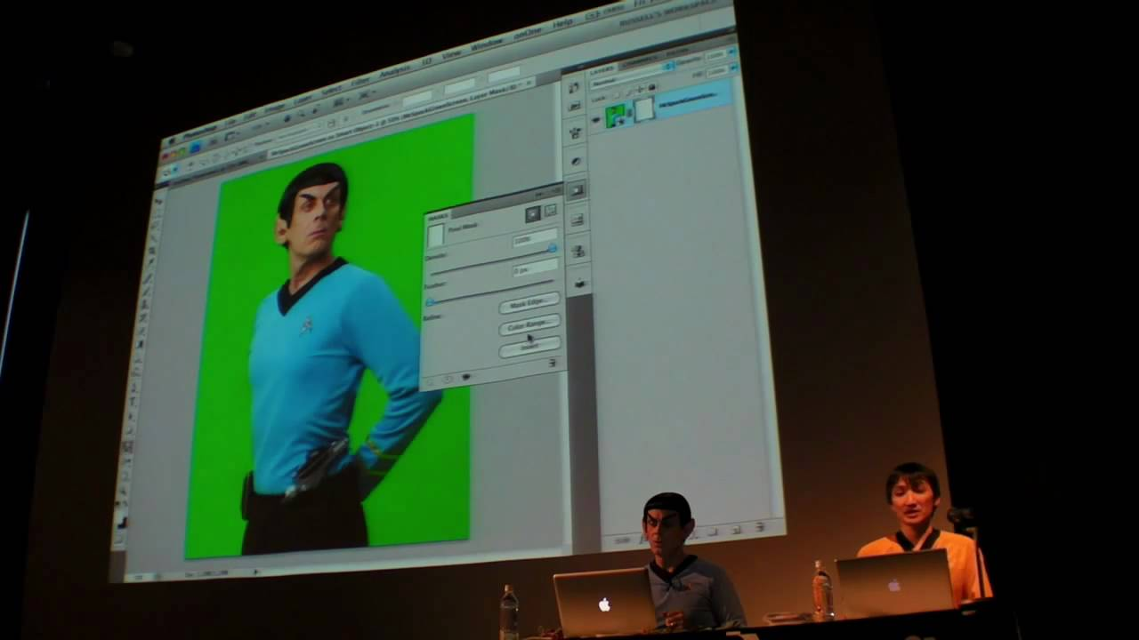 Creators Summit 2009:Russell Brown「Adobe Photoshop CS4 Mask Tips」