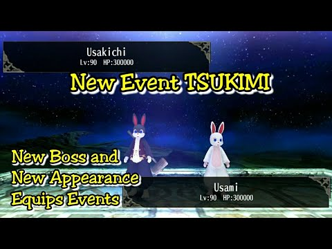 Toram Online - New Event TSUKIMI (NEW BOSS AND APPEARANCE EQUIP
