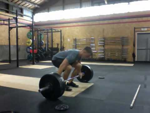 Coach Josh - 180 Snatch at CrossFit ThunderRidge, Port Angeles, WA