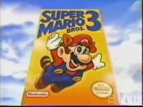 Super Mario Bros 3 Commercial