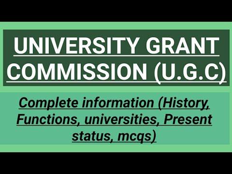 Download University Grant Commission