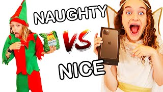 """""""YOU TRICKED ME!"""" NAUGHTY vs NICE Challenge w/The Norris Nuts"""