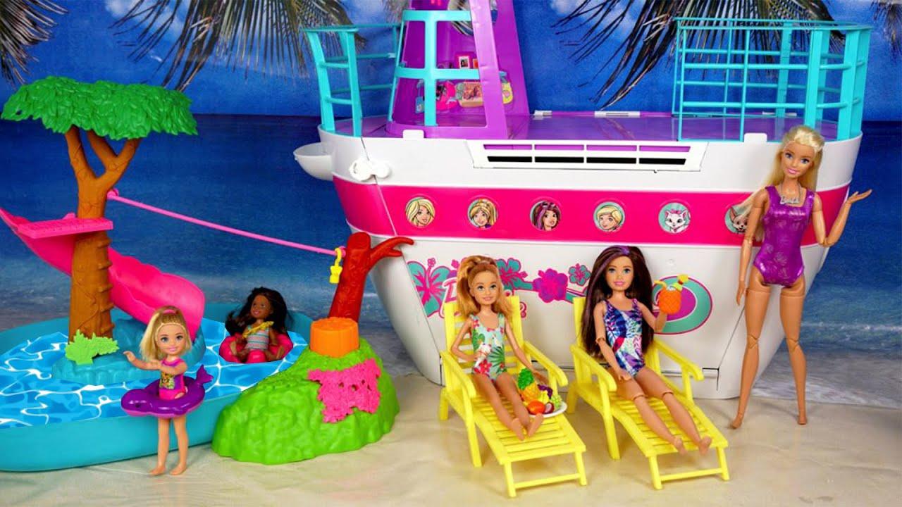 Rutina de Vacacion y Cumpleaños de Chelsea - Piscina de Barbie!