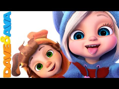 😘 Best Nursery Rhymes & Kids Songs | Nursery Rhymes and Baby Songs from Dave and Ava 😘